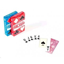 NAIPES POKER HACHAZO X 54 2495