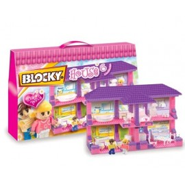BLOCKY HOUSE 6 CASA 4 AMBIENTES 01-0645