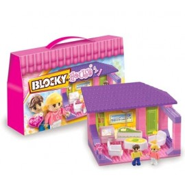 BLOCKY HOUSE 1 LIVING 01-0640