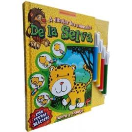 A DIBUJAR ANIMALES DE LA SELVA 2482