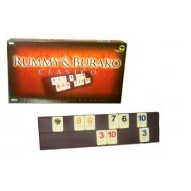 RUMMY BURAKO CLASICO CAJA CARTON 10364