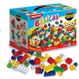 RASTI KIT X 200 PIEZAS BASICAS 01-1009