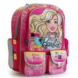 MOCHILA BARBIE LINEA TEXT 16041