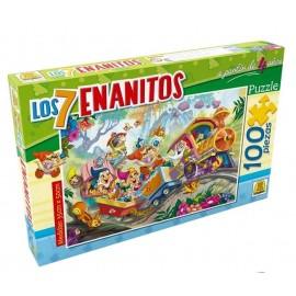 PUZZLE LOS 7 ENANITOS 100 PZAS ART 215