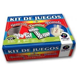 KIT JUEGOS 3 EN 1 -GENER/DOM/PERIN/ 147