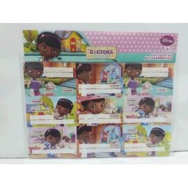 etiquetas sobre X 9 dra juguetes  9011N