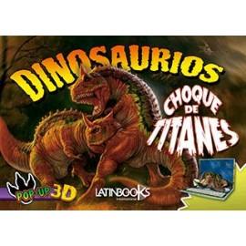 DINOS POP UP-CHOQUE DE TITANES 3590