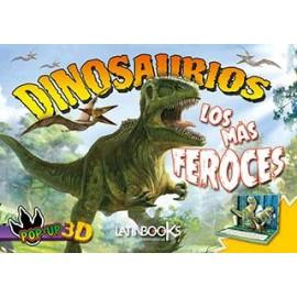 DINOS POP UP-LOS MAS FEROCES 3593