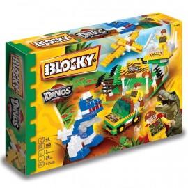 BLOCKY DINOSAURIOS 150 PIEZAS 01-0678