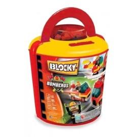 BLOCKY BALDE BOMBERO 100 PZ 01-0653