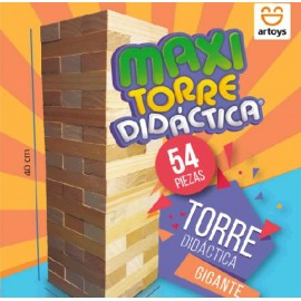 TORRE DIDACTICA MAX 54 PIEZAS 122