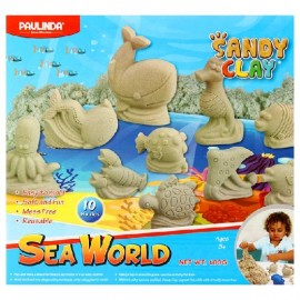 SET PAULINDA SANDY CLAY SEA WORLD 3813