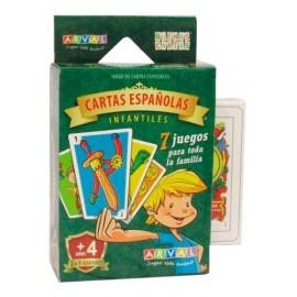 CARTAS ESPAÑOLAS INFANTILES 1008