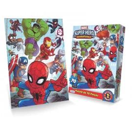 PUZZLE 70 PIEZAS SUPER HERO VSPO3274