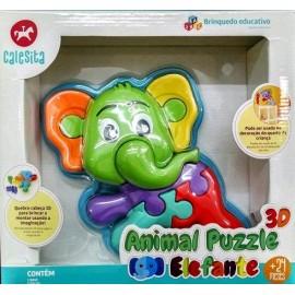 PUZZLE 3D ELEFANTE 856