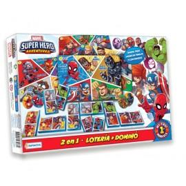 DOMINO LOTERIA SUPER HERO VSP03276