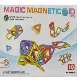 BLOQUES MAGNETICOS COLORES 36PZS MG12