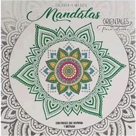 COLOREA Y MEDITA - MANDALAS ORI LIST-235