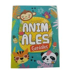 COLOREANDO ANIMALES GENIALES 236