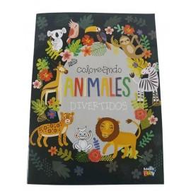 COLOREANDO ANIMALES DIVERTIDOS 238