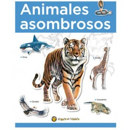ANIMALES ASOMBROSOS-APRE C/STICKERS 2696
