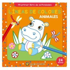 LINEAS DE COLORES-ANIMAL-MI 1°LIB AC2643