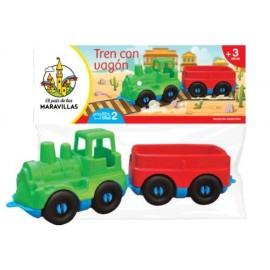 TREN PICCOLO CON 1 VAGON 0211