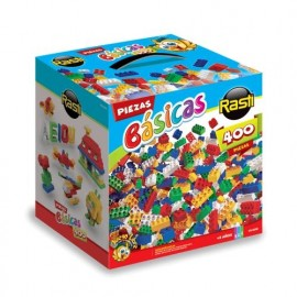 RASTI KIT X 400 PIEZAS BASICAS 01-1010